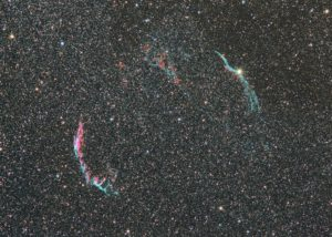 Veil Nebula, about 4 hours