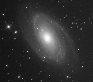 M81 crop – the colors were off