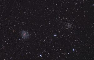 C12 Fireworks Galaxy and NGC 6939, 3x5min