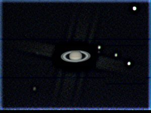 a processed Saturn image