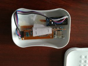 powered by an arduino nano, version 1
