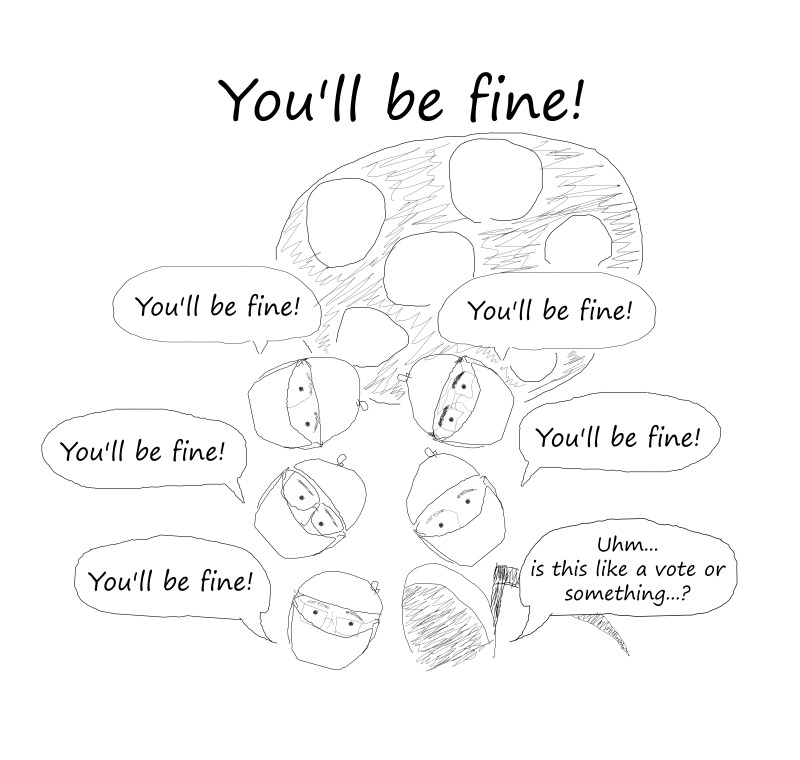 You'll be fine!