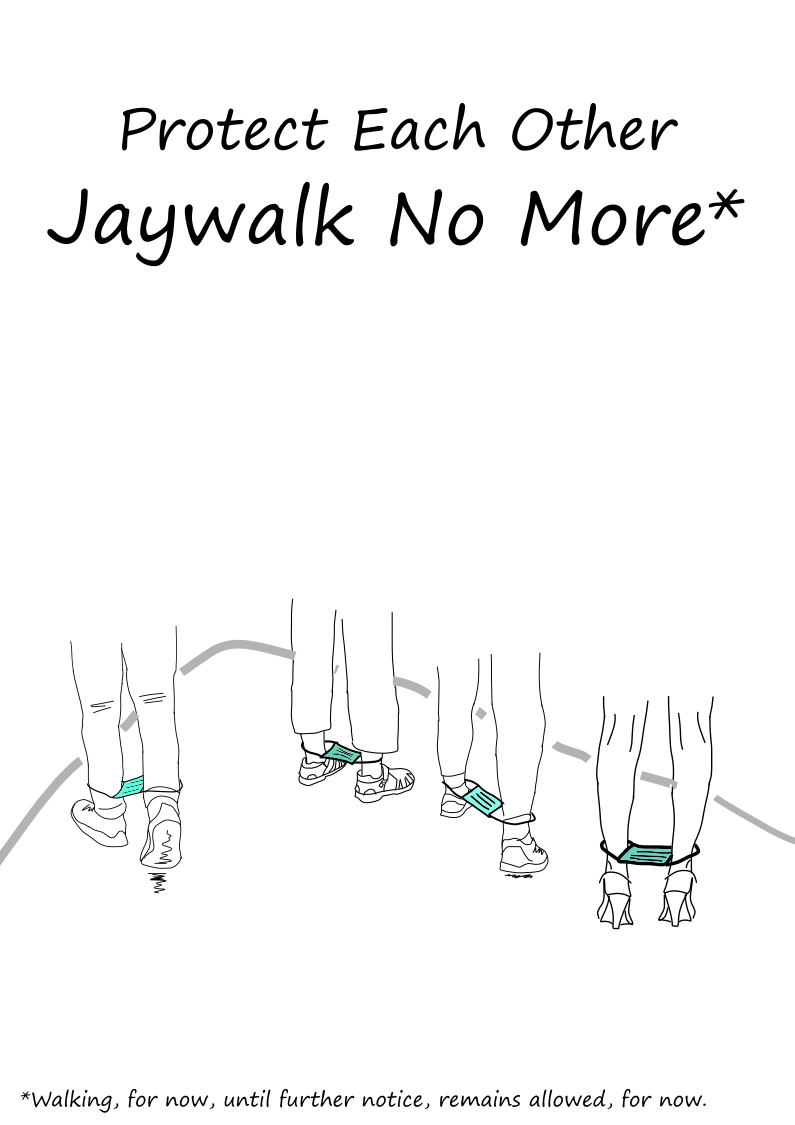Jaywalk No More