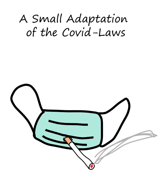 A small adaptation of the CoViD-laws